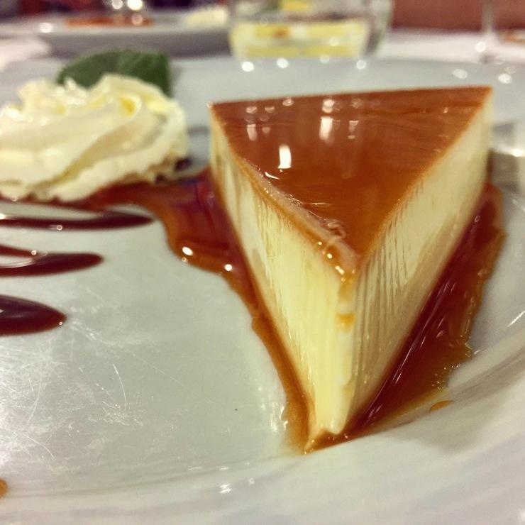 Tarta de queso, O Chiringuito