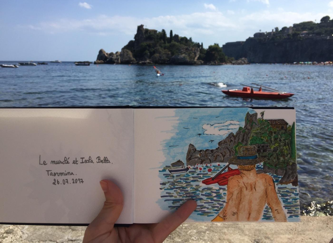 Dessin Isola Bella