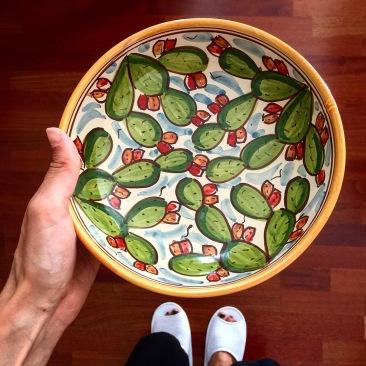 Vaisselle céramique sicilienne