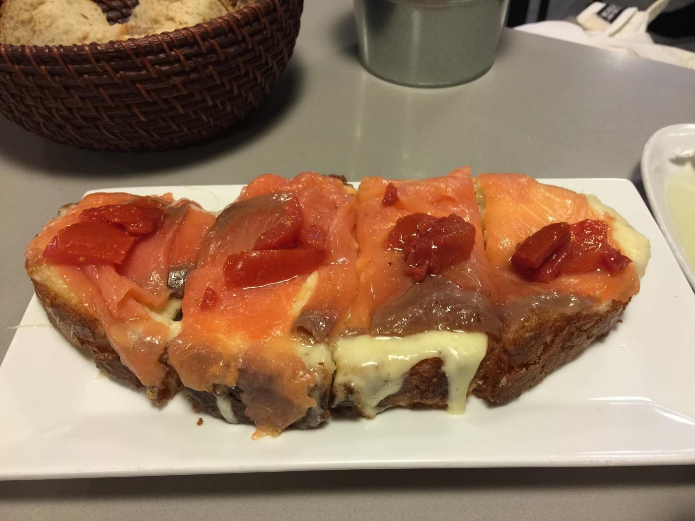 Tartine à La Bodeguilla Feijo