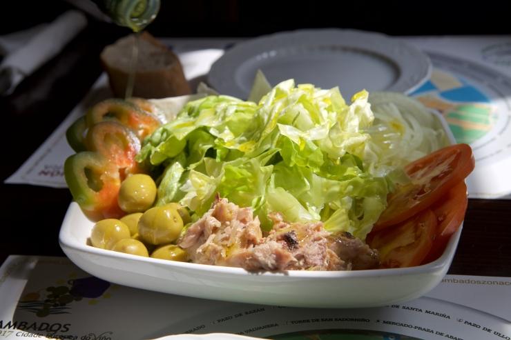Salade mixte, Cambados