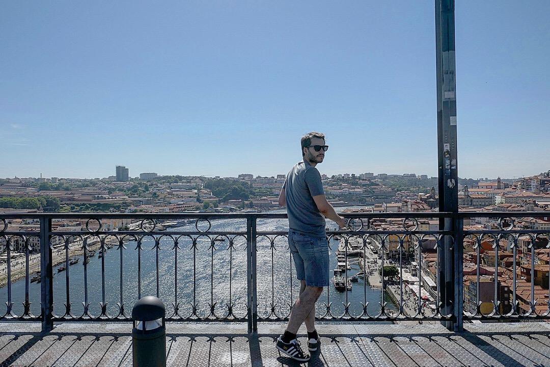 Vue d'en haut du Pont de Porto