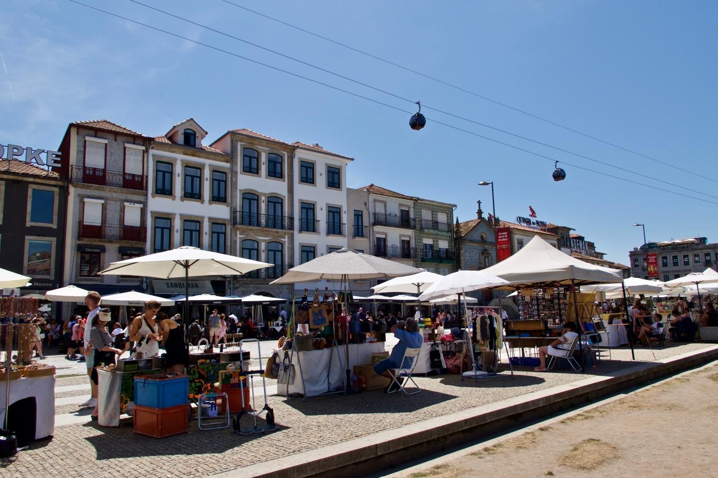 Vue de la Ribeira, Porto