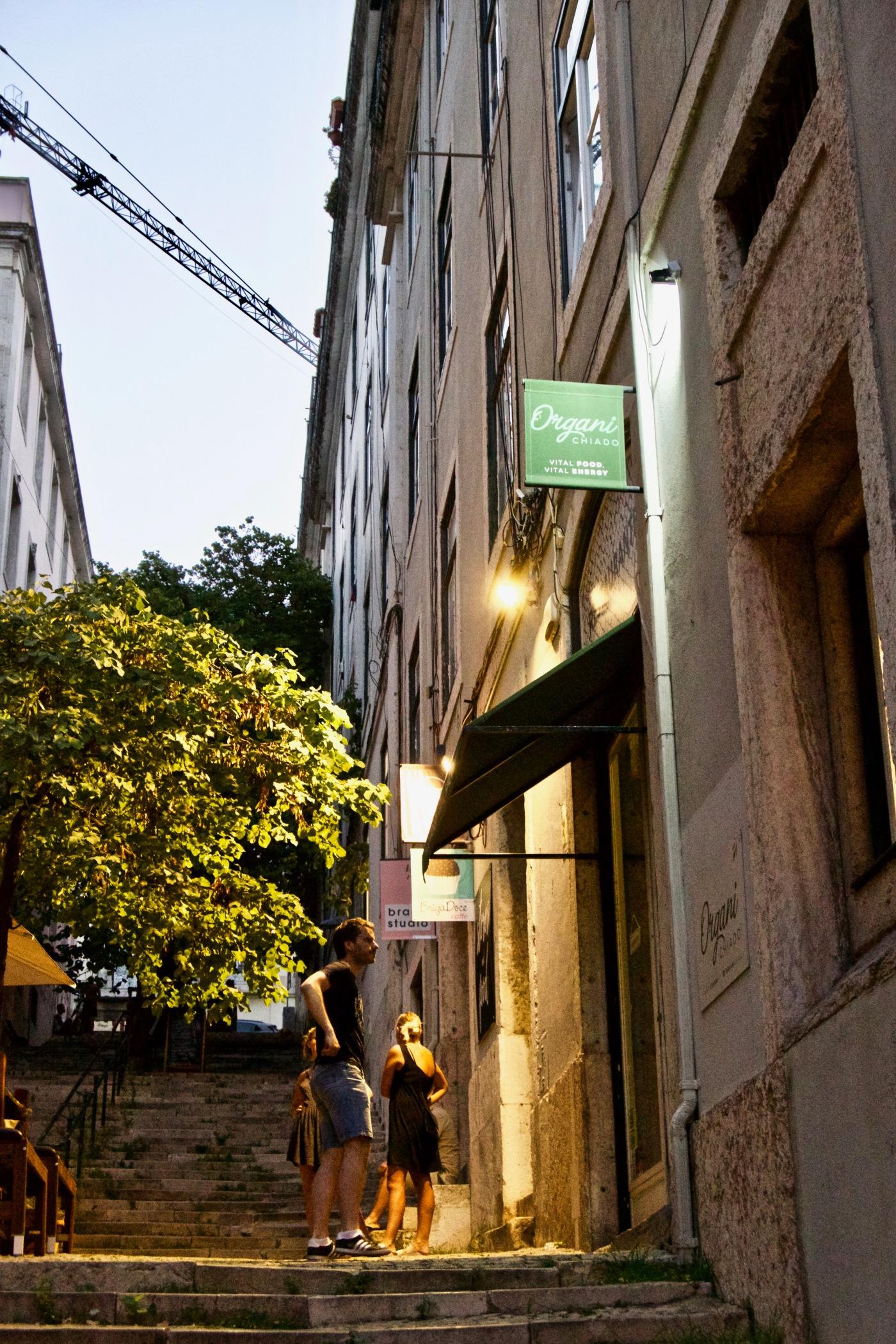 Organi Chiado, Lisbonne
